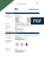 Portland Cement Sds