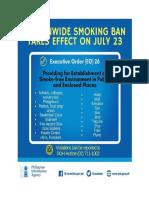 E.O. 26 Anti- Smoking
