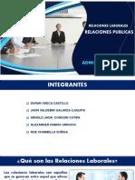 Relaciones Laborales y Relaciones Publicas PDF