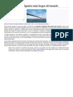 Puente Colgante Mas Largo
