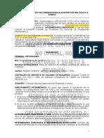 Contrato Corresponsalia