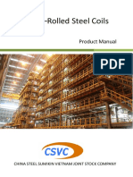 Cold–Rolled Steel Coils