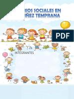 Cambios Sociales en La Niñez Temprana-plantilla