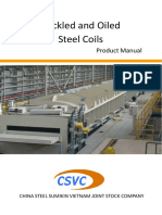 Pickled and Oiled Steel Coils