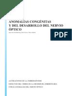 Cap Anomalias Congenitas y Del Desarrollo Del Nervio Optico