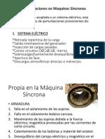 PERTURBACIONES MAQUINAS SINCRONAS