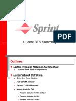 Lucent BTS Summary