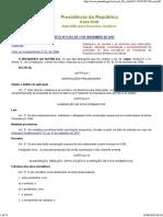 Normas e Diretrizes Para Elaboração de Atos Normativos Da Presidência