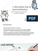 CSS - Allergic Dermatitis Due to Topical Antibiotics.ppt