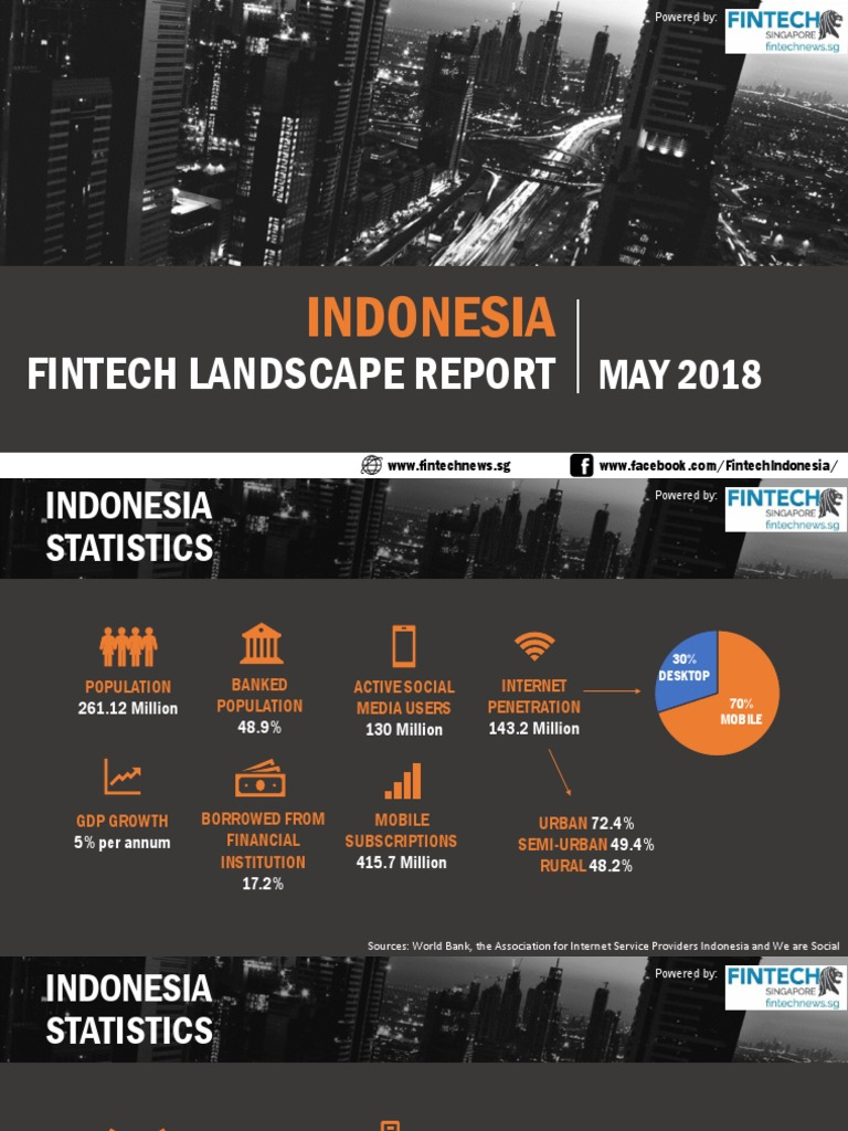 Fin Tech Indonesia Report 2018 | E Commerce | Payments