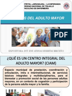 CIRCULO DEL ADULTO MAYOR