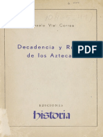 Decadencia y Ruina de Los Aztecas