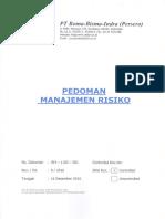 Pedoman Manajemen Risiko