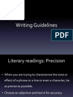 Wk 11 Writing Guidelines Short Ver (1)