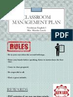 class management plan- marsha lueck