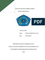 Laporan Kunjungan Kerja (Sosro)
