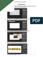 Diseñando Letras de Galleta en Photoshop