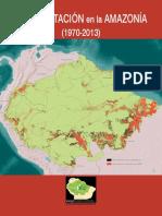 Deforestacion en La Amazonia1970-2013