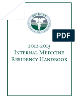 2012 2013 Resident Handbook