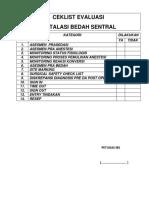 Ceklist Evaluasi Ibs