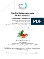 Do Your Homework Flyer