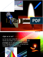 física, la luz