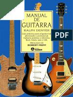 Manual de Guitarra - Ralph Denyer - Spanish