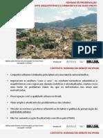 2 Ciclo Norma de Ouro Preto Concep o e Metodo 07-04-2016