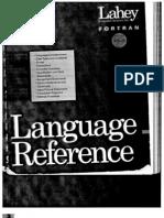 Lahey FORTRAN Program Reference Manual