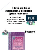 How to Set Up and Run an Evangelization