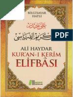 Ali Haydar - Kur-an-ı Kerîm ElifBâsı (Bilgisayar Hatlı).pdf