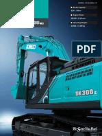 English Brochure SK300LC 10