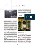 Tema 48 Fascismo y Neofascismo- Caracteres y Circunstancias en Que Se Desarrollan (Aula de Historia) Anexo Tratado de Versalles (1919)