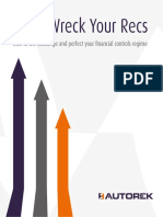 Don't Wreck Your Recs - Perfect Your Financial Controls Regime