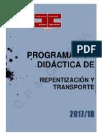Pro. Repen. y Trans.2017-2018