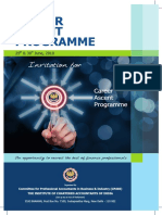 Brochure Career Ascent Programme