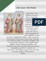 Oração a São Cosme e São Damiã1