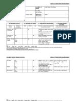 Risk Assessment Form - NEA