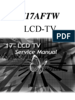 Tatung V17AFTW LCD TV -Service-Manual
