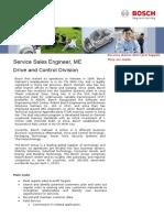 DC ME Service Sales Engineer 06.2016