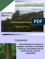 10 Aprovechamiento Forestal en Bosques Naturales y Artificiales