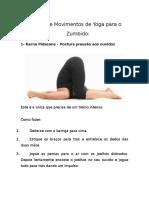 7 Tipos de Movimentos de Yoga Para o Zumbido