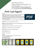 Anti Rust Agent