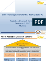 Debt Funding for Solar Projects