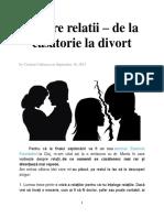 De La Casatorie La Divortz