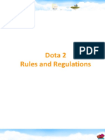 Dota2 - Rules- En
