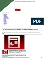 14 Dicas Para Construir Uma Boa Apresentação Em PowerPoint - PC WORLD