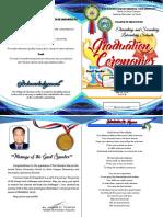 2018 SLS Graduation Program