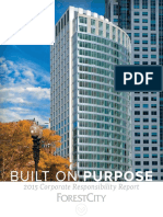 Forest City 2015 Corporate Responsibility Report