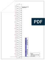 Web Tower Profile Drawing